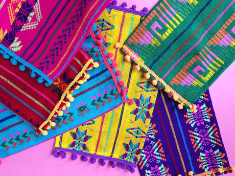 Mexican table linens