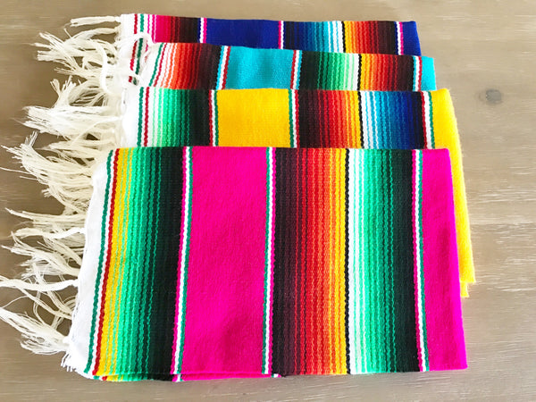 Mexican Serape Placemats Set Of 4 Mesachic