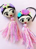 Frida tassel -pastel colors