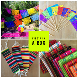 Fiesta in a box Mexican Party pack decoration set - MesaChic