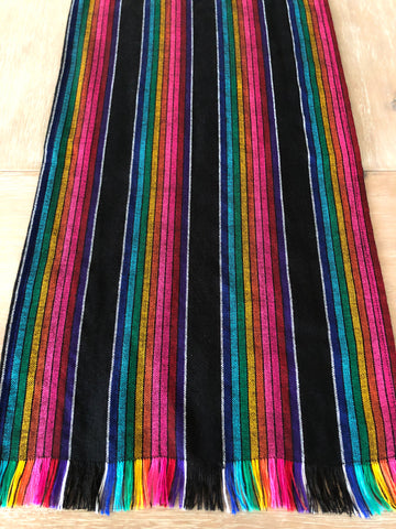 Mexican striped Table Runner - wide stripe