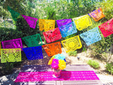 Papel Picado Mexican Banner. Large - MesaChic - 1