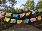 Papel Picado banner Pastel colors bunting - MesaChic - 4