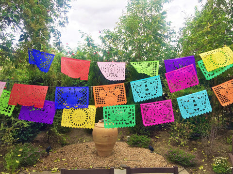 Papel Picado Mexican Banner. Medium - MesaChic - 1