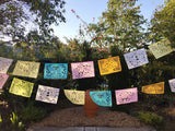 Papel Picado banner Pastel colors bunting - MesaChic - 2