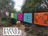 Papel Picado Mexican Banner. Large - MesaChic - 5