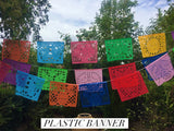 Papel Picado Mexican Banner. Large - MesaChic - 3