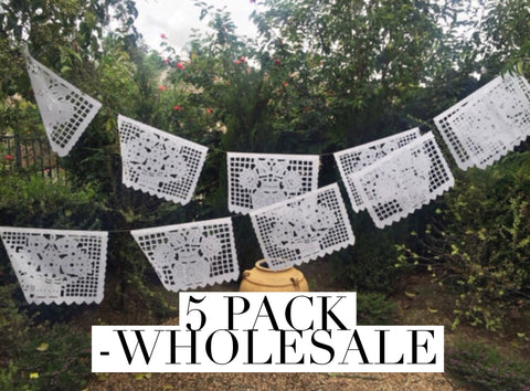 Wholesale Papel Picado Banner, 5 pack Large - MesaChic