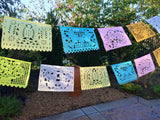 Papel Picado banner Pastel colors bunting - MesaChic - 3