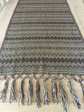 Handwoven Mexican Blanket or throw -Lightweight - MesaChic - 3