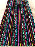 Mexican Fabric Table Runner - Bohemian black