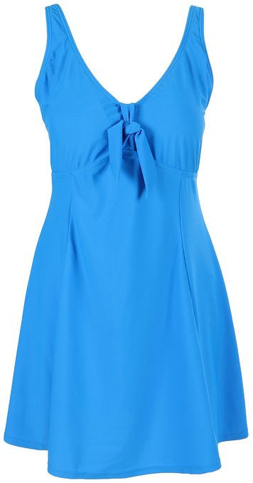 Lovely Plus Blue Sky One Piece Swim Dress