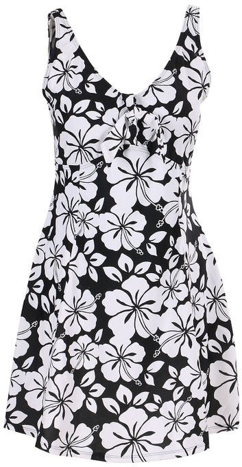 Lovely Plus Hawaii Vacay One Piece Swim Dress