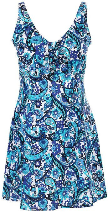Lovely Plus Ocean Breeze One Piece Swim Dress