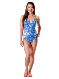 Hawaiian Skies Crossback One Piece
