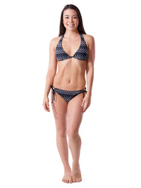 Strut Peacock Crochet String Bikini Set