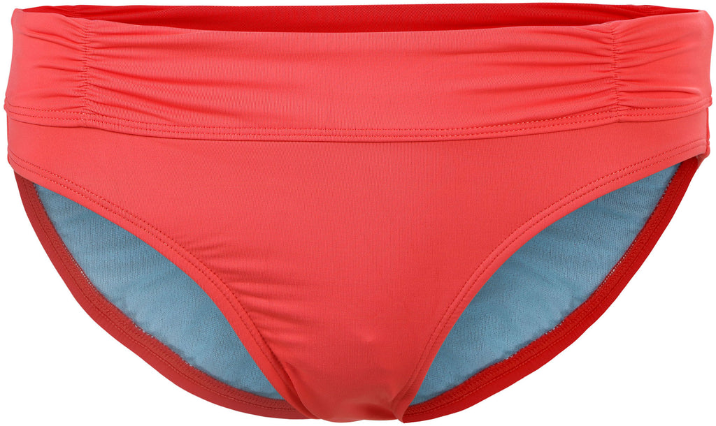 Bawdy Summertime Sexy Push Up Coral Bikini Bottom