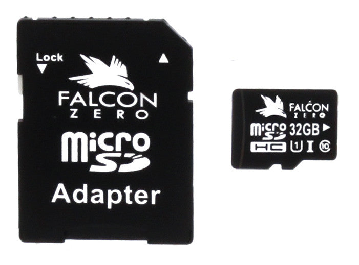 Falcon Zero 32GB SD Card with Adapter
