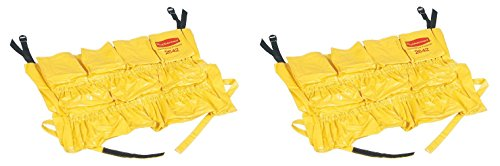 Rubbermaid Commercial Products FG264200YEL BRUTE Caddy Bag, Vinyl, 44 g, Yellow (3 PACK)