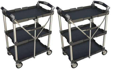 Olympia Tools 85-188 Collapsible Service Cart (2 PACK)