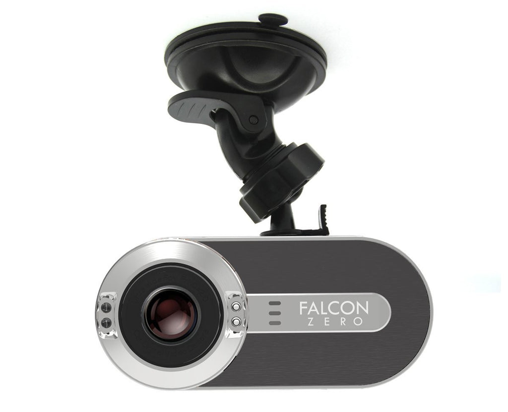 Falcon Zero F170+ Dash Cam 1080P 170° Viewing Angle 8GB Micro SD Card Included