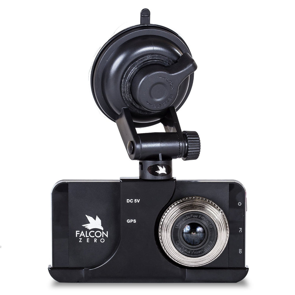 FALCON ZERO TOUCH HD DASH CAM BUNDLE WITH TWO VEHICLE ACCESSORIES