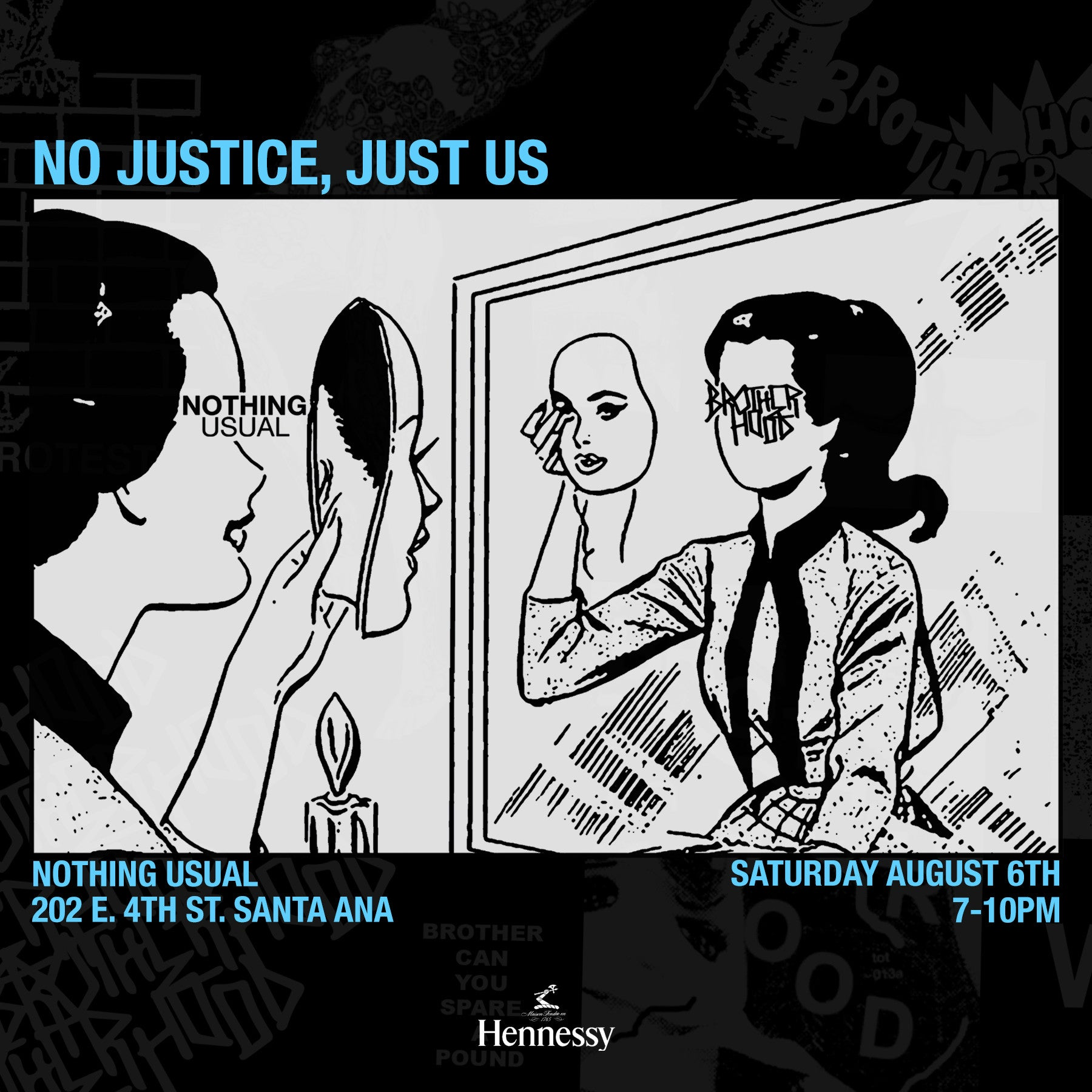 NOT.US // BROTHERHOOD - NO JUSTICE, JUST US