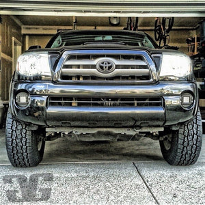 2005 - 2011 Tacoma LED Flush Mount Pod Fog Light Pod Mounts