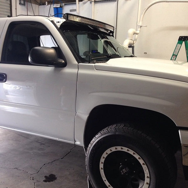 2006 White Chevy Silverado