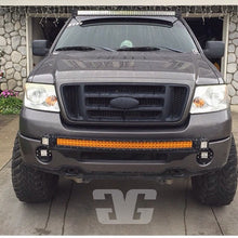 "Load image into Gallery viewer, 2004 - 2008 Ford F150 Curved 50"" LED Light Bar Roof Mounts"