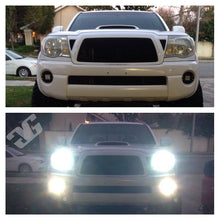 Load image into Gallery viewer, 2005 - 2011 Tacoma LED Flush Mount Pod Fog Light Pod Mounts