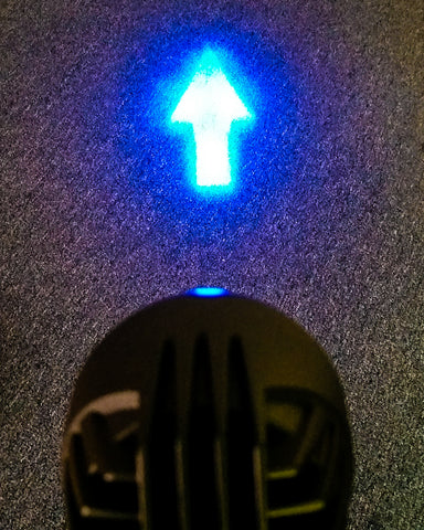 Blue Arrow Forklift Safety Light