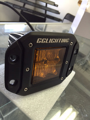 Amber G4D Flush Mount LED Pod