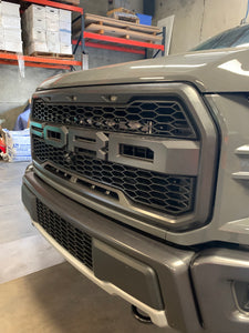"2nd Generation Ford Raptor 30"" Behind The Grill Mounts"