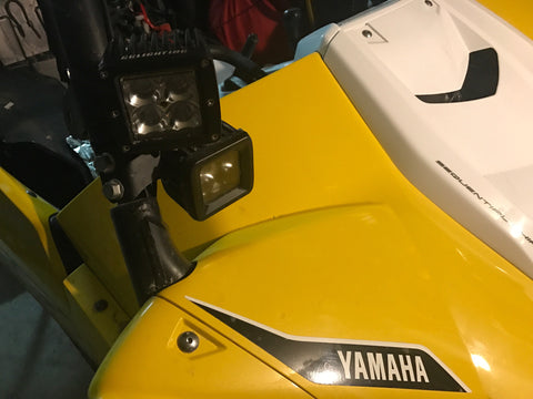 Yamaha YXZ 1000r LED Pod Pillar Mount