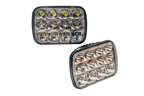 Rectangle Hi & Low Beam Headlight Replacement