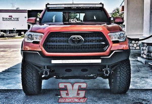 "2005+ Tacoma Curved 50"" LED Light Bar Roof Mounts"