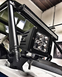 "Polaris RZR 1000 & 2014+ RZR 900 30"" LED Light Bar Roof Mounts"