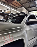 "2014+ Chevy Silverado / GMC Sierra 50"" Curved LED Bar Roof Mounts"