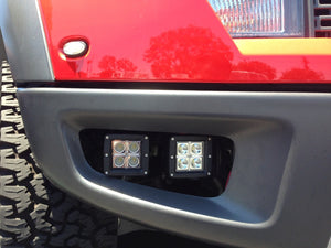 Ford Raptor Fog Light Pod Mounts