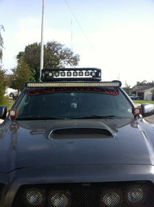 "2005+ Tacoma Straight 50"" LED Light Bar Roof Mounts"