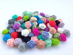 Mini Rose Flower Beads