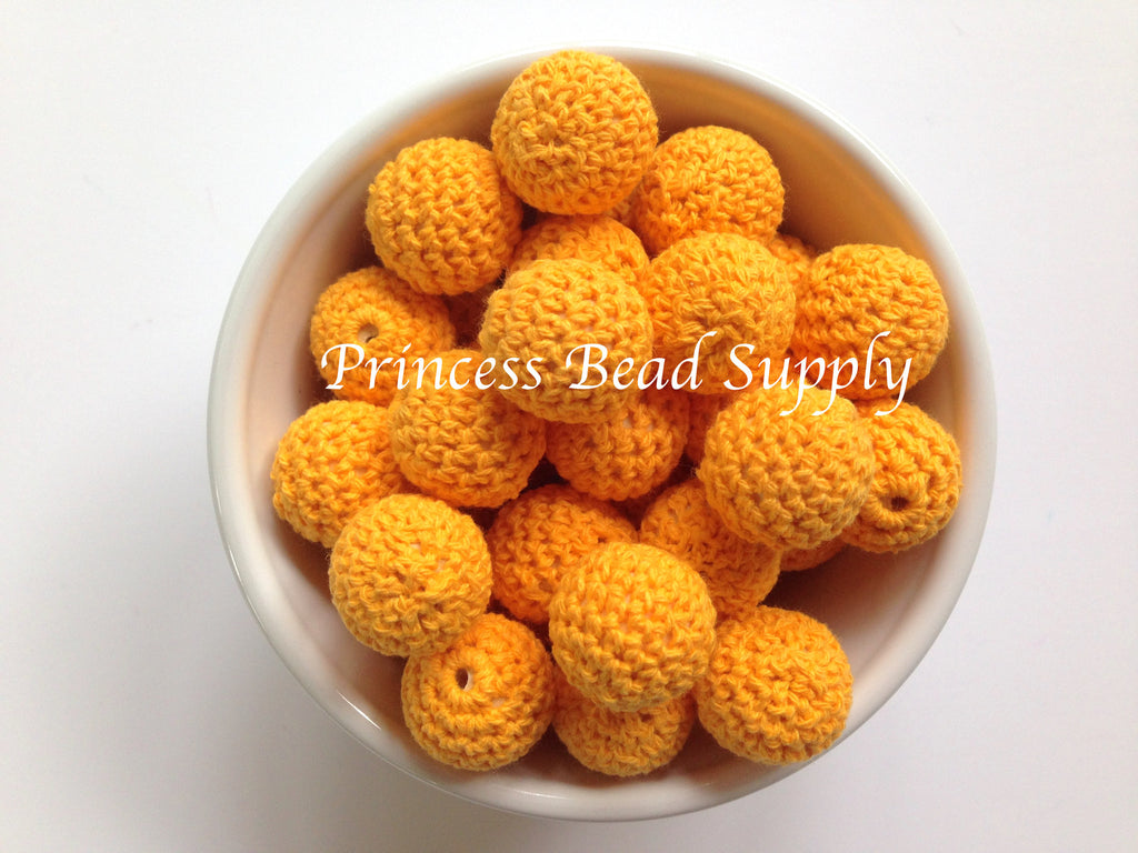 Mango Crochet Wood Beads