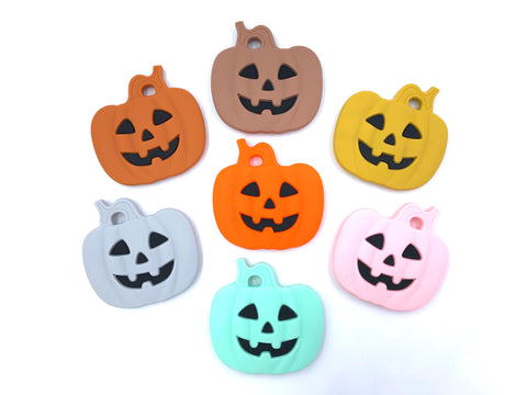 Pumpkin Silicone Teether