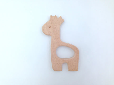 Giraffe Natural Wood Teether