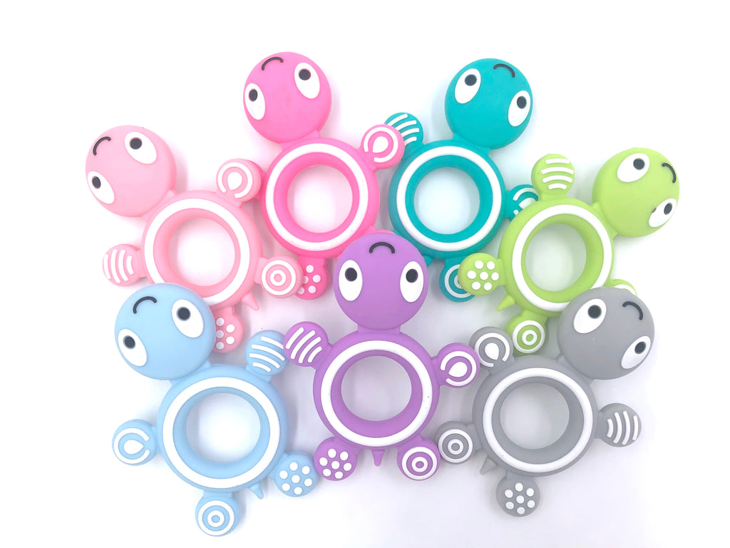 Turtle Silicone Teether