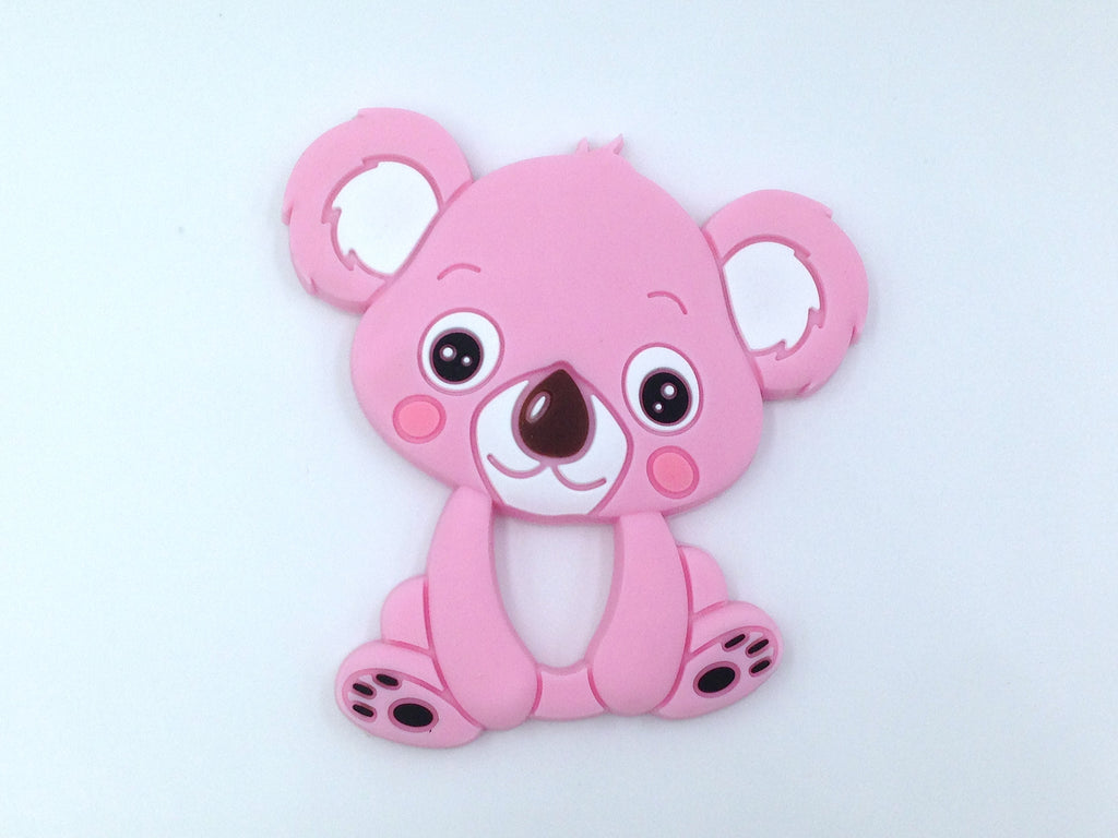 Light Pink Koala Silicone Teether