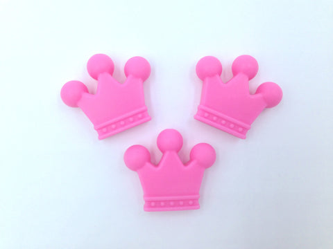 Pink Crown Beads