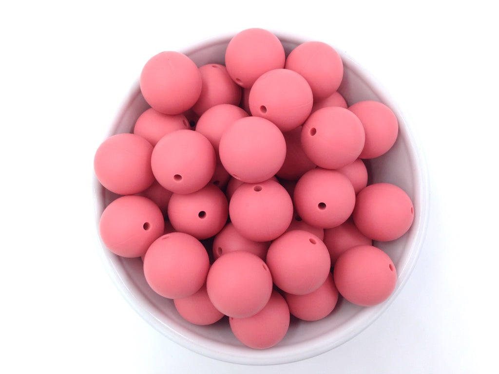 19mm Strawberry Ice Silicone Beads