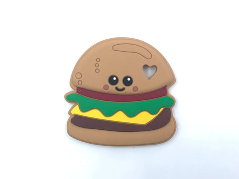 Hamburger Silicone Teether--New Style!